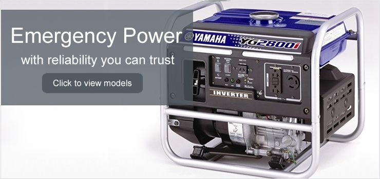 View all Portable Yamaha Generator Models